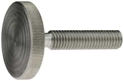 niedrige Form 5 x 30 mm DIN 653 Stahl blank 5 St/ück Reidl R/ändelschrauben