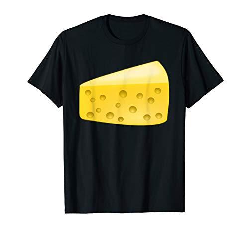 Cheese Wedge Costume T-Shirt Matching Pair with Wine Costume]()