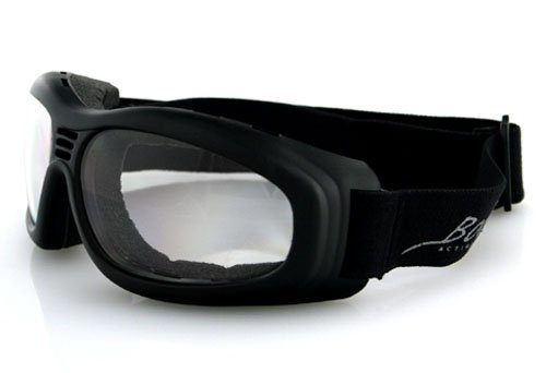 Balboa Touring 2 Goggle Black Frame Anti-Fog Clear Lenses Bt2001C