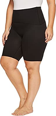 "SPANX Womens Plus Size Active Compression 4"" Shorts"