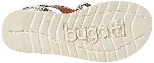 Bugatti J93856r 265 beige Sandales Compensées Pink Gris Beige Femme rrdAzwxPq