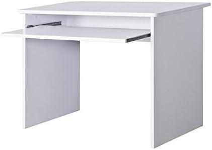 Lyndan - Onalaska blanco mesa de ordenador escritorio compacto ...