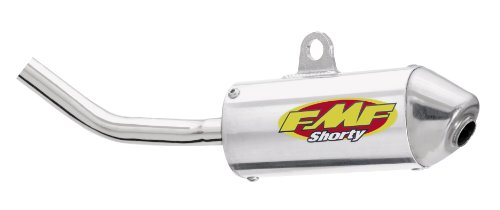 Fmf Powercore 2 Silencer - FMF Racing PowerCore 2 Shorty Silencer , Color: Natural, Material: Aluminum 022009