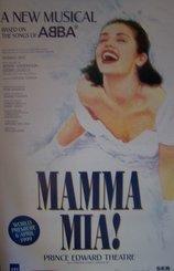 Poster-Mamma Mia! Original London Theatre Poster