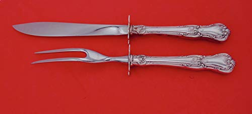 2 Piece Sterling Carving - Memory Lane by Lunt Sterling Silver Steak Carving Set 2-piece