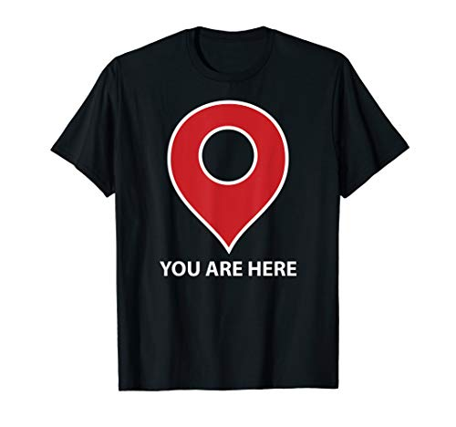 (You Are Here Map Pin Icon Funny)