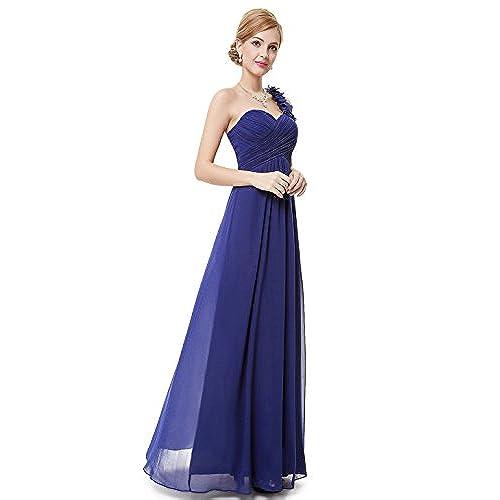 Blue Sapphire Bridesmaid Dress: Amazon.com