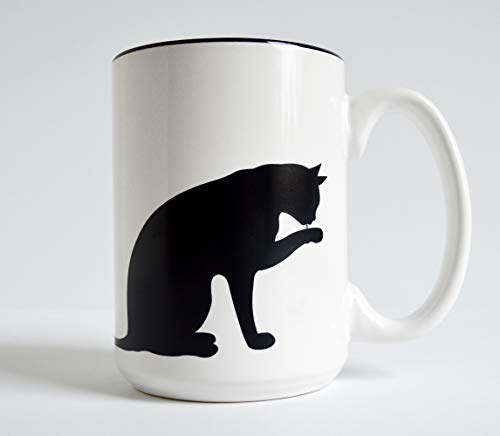Cat and Paw Mug