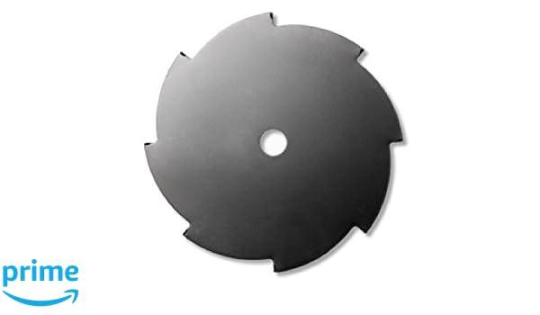 McCulloch GM577614203 Disco de 8 Puntas, Diametro de Corte: 255mm ...