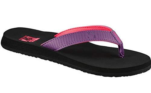 Body Glove Storm Womens Flip Flop (8) Purple/Pink