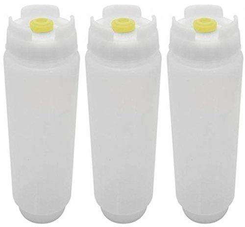 FIFO – 16 oz Squeeze Bottle (3-Pack)