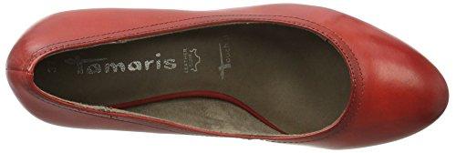 Tamaris 22410, Zapatos de Tacón para Mujer Rojo (CHILI 533)