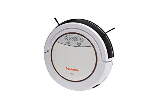 EHMONE Robot Vacuum Cleaner for Pets and Allergies Silver 510