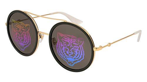 Sunglasses Gucci GG 0061 S- 014 GOLD/GREEN
