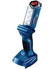 Bosch Professional 18V System Accu-Led-Lamp Gli 18V-300 (Max. Helderheid 300 Lumen, Zonder Accu'S En Oplader, In Doos)