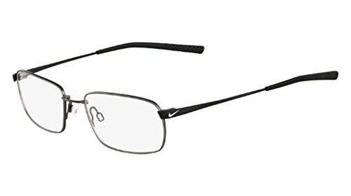 Charcoal Clear Glass - Nike 4194 Eyeglasses 59 Charcoal Satin Black Clear Demo 54 18 145
