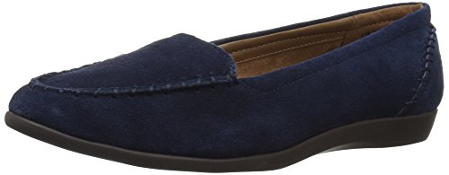 Aerosoles Womens Trending Dark Blue Suede