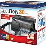 AQUEON QUIETFLOW 30 FILTER - Size: 30-45GAL/200GPH - Color BLACK