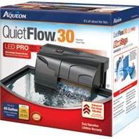 AQUEON QUIETFLOW 30 FILTER - Size: 30-45GAL/200GPH - Color BLACK