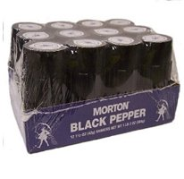Morton Shakers, Black Pepper, 1.5 Ounce (Pack of 12) by Morton (Image #1)