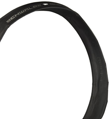 Schwalbe One 700x25C Folding One Star Clincher V-Guard 127TPI 85-130PSI Black Bike Tire (Clincher Tire Pro)