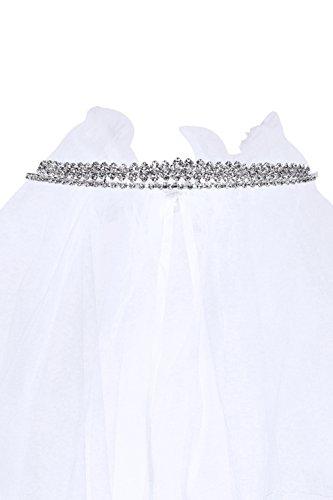Kids Dream Precious First Communion Flower Girl Veil w/Elegant Princess Tiara and Ribbon for Girls by Kid's Dream