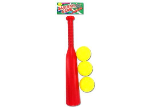 Bulk Buys KO062-96 Plastic Baseball Set by bulk buys