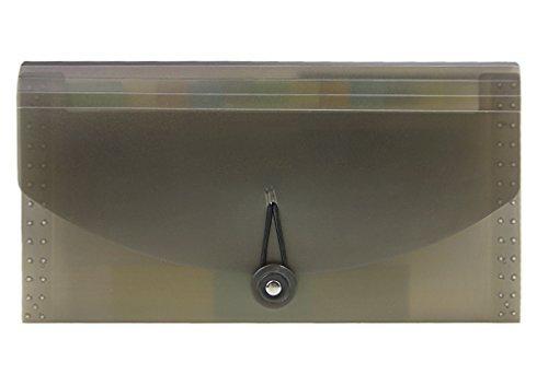 13-Pocket Clasificador de fuelle con botón y tamaño de cadena cierre, Junior, Cupón Archivo Acordeón Organizador Carpeta...