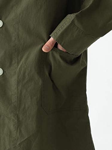 [スポンサー プロダクト][ビームス] コート DANTON × BEAMS 別注 ステンカラー コート 20SS メンズ