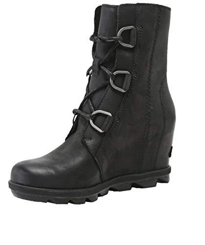 Sorel Women's Joan of Arctic Wedge II Boots, Black, 8.5 M US