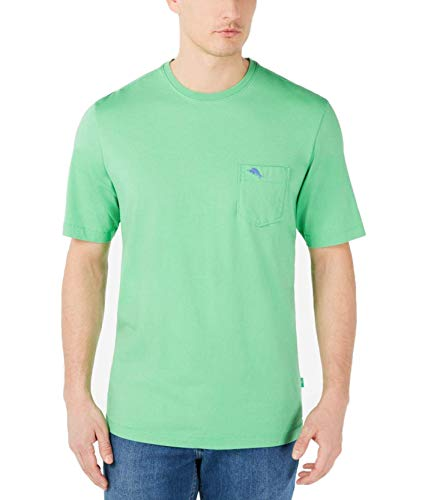 Tommy Bahama Men's Bali Skyline T-Shirt (Small, Turtle Shell Green)