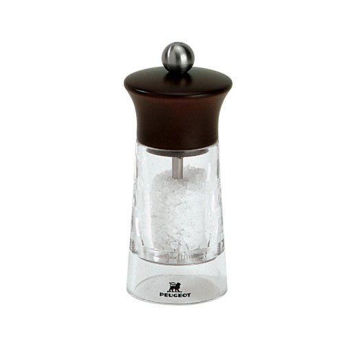 Peugeot PM18702 Vendome 5.5 Inch Salt Mill, Chocolate