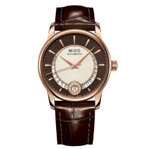 MIDO Women's Automatic Watch Baroncelli M0072073629100 with Leather Strap