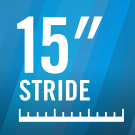 15″ Stride