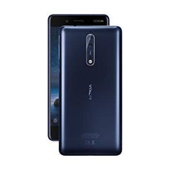 "Nokia 8 TA-1052 64GB Tempered Blue, Dual Sim, 5.4"", 4GB RAM, GSM Unlocked International Model, No Warranty"