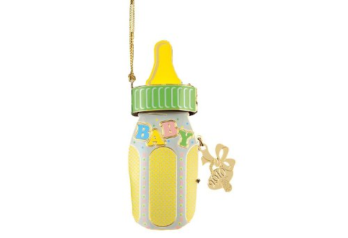 Baldwin Baby Bottle 2010 Ornament