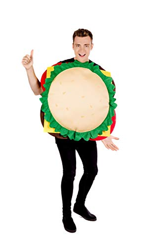 fun shack Men's, Cheeseburger One Size]()