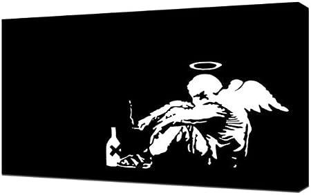 Banksy - Ángel - lámina de reproducción de teclado de ...