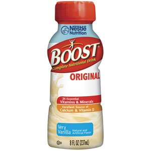 8506743600 - Boost Original Ready To Drink 8 oz., Very Vanilla by Nestle Healthcare Nutrition
