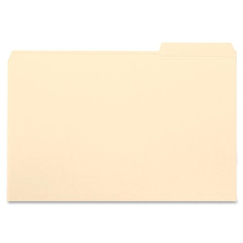 Smead File Folder, 1/3-Cut Tab, Right Position, Letter Size, Manila, 100 Per Box (10333)