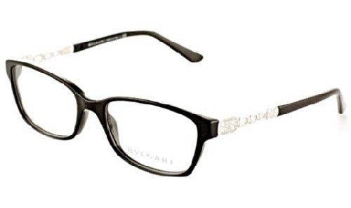 Bvlgari Eyeglasses BV 4061-B Black 501 - Glasses Frames Bvlgari