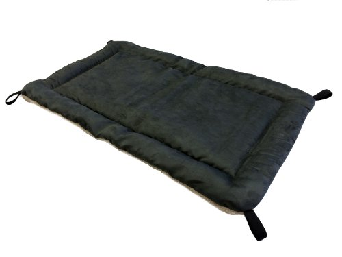 Kuranda Reversible Fleece Pad - 40x25 - Smoke/Cream