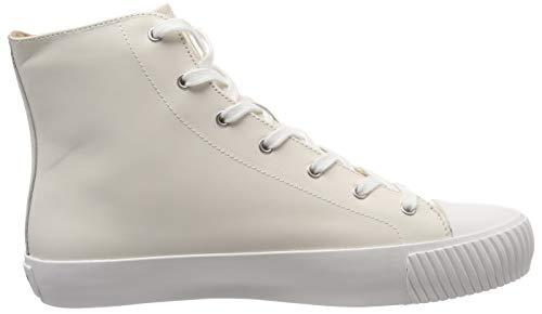 101 Hohe Sporty Jil Sneaker Sander Bianco Weiß Damen Owtw04qz