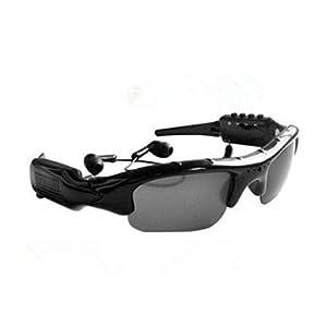 YYCAMUS Mini Camera 4 in 1 Music Sunglasses Sport Glasses Camera Support Micro SD Card 32GB