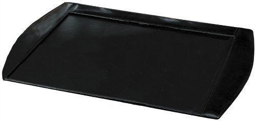 Buddy Pad Desk Products - Buddy Products Roma Leather Desk Pad, 20 x 0.75 x 30 Inches, Black (9238-26)