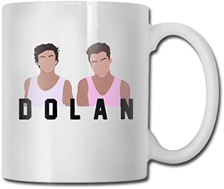 antspuent Dolan Twins Funny Coffee Mug - 11 Ceramic Coffee Cup - Best Gifts Idea for Christmas, Valentine and Birthday, Father's Day and Mother's Day Cup