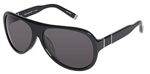 trussardi-womens-12900-bk-61-14-black-oval-sunglasses