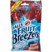 Halls Halls Fruit Breezers, Cool Berry, 25 lozenges
