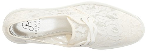 Adrianna Women Papell White Canvas Oxford Paisley TqTwrxZ