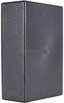 Velleman WCAH2851 - Caja (Negro, De plástico, 160 mm, 95 mm, 55 mm)